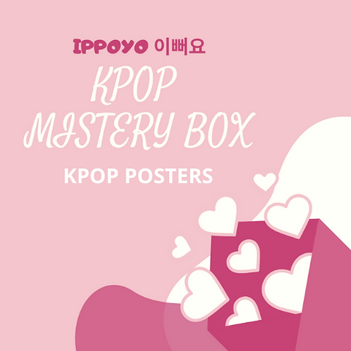 KPOP MISTERY BOX - KPOP POSTERS (4 POSTERJI)