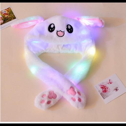 Bunny Kapa (z LED lučkami in premikajočimi ušesi)