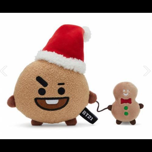 BTS BT21 OFFICIAL - SHOOKY CHRISTMAS DOLL 15CM