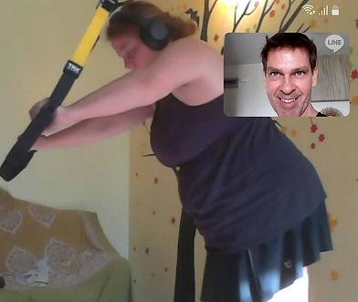 online fitness trainer Dennis Romatz