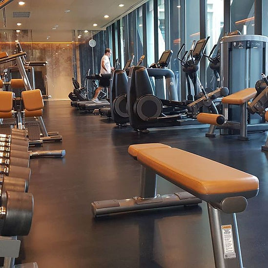 In-home & apartment gym personal training Hanoi