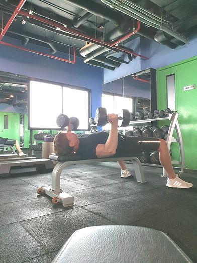 condo gym & in-home personal trainer Chiang Mai Dennis Romatz