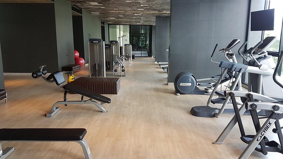 Condo gym personal trainer in Bangkok