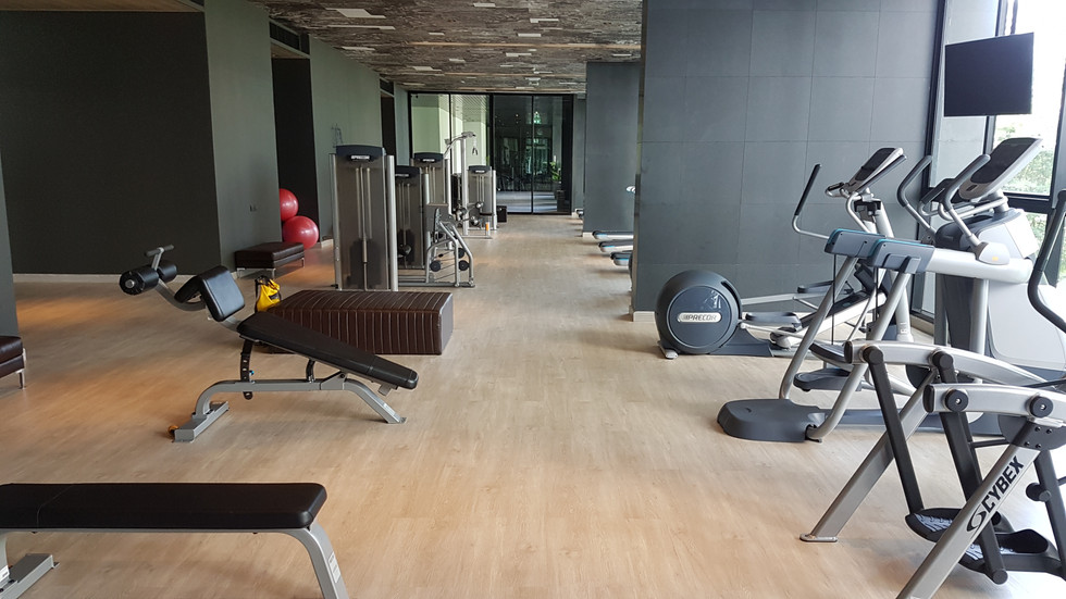 Condo gym personal trainer in Bangkok