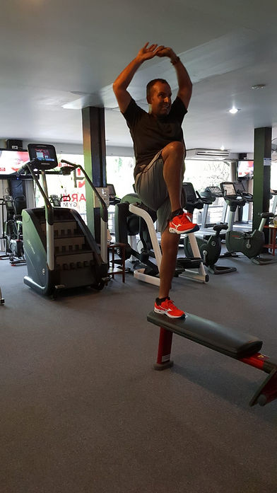how personal training in Chiang Mai works