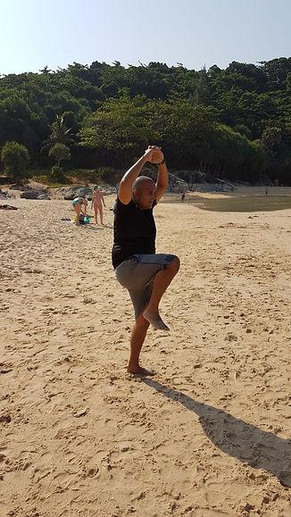 phuket private personal training by Dennis Romatz