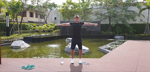 personal trainer for travel & UAE, Asia,