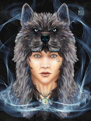 Michelle Webb | Cry Wolf | Archival Giclee Print | 2016