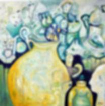 Susannah Paterson | A Still Life | oil on canvas | 72 x 72cm | 2017