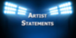 Contemporary Art Awards | Artist Statments |  Blog