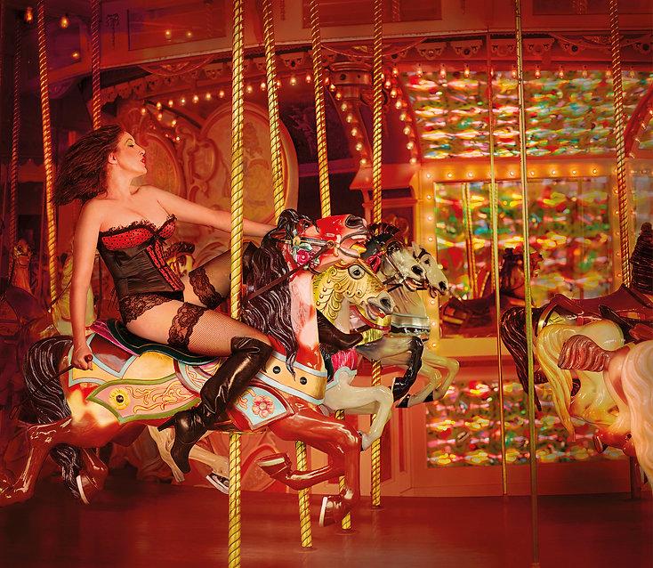 Daniel Kneebone | Freedom, Carousel Girl | Archival print | 90 x 78cm | 2015