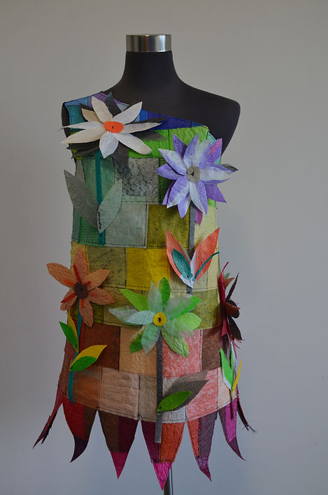 Patchwork of Ideas and Solutions (2015) by textile artist, Karen Benjamin