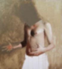 Rhys Knight | Self (body-world) 3 | Oil on canvas | 90 x 80cm | 2017