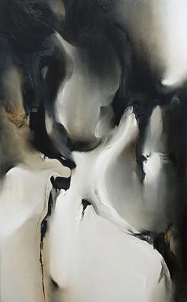 Ella Baudinet | Genesis | oil on canvas | 76 x 122cm | 2017