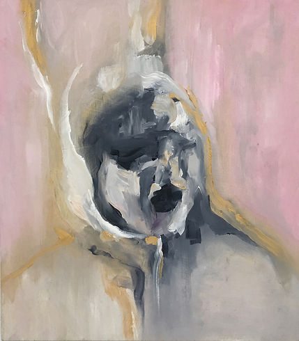 Lisa Koutoulas | This is Max | oil on board  | 36 x 40cm | 2016