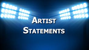 Shining a light on Artist Statements