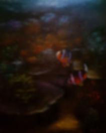 Eugene Rubuls | Clown Fish | Oil on canvas | 60 x 75 x 1.5cm | 2017