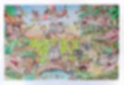 Travis Bell | I Appreciate | Watercolour on paper | 69 x 47.5cm | 2016