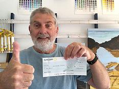 2019 Winner, Mark Bagally