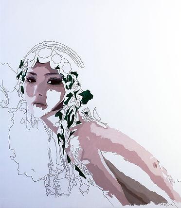 Alejandra Sieder - NORIKO XIN, 2018, painting