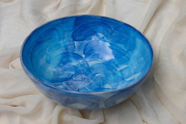 Susannah Paterson, 'Wheelthrown Bright Blue bowl, stoneware, 2018