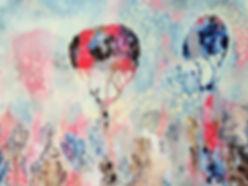 Leah Doeland | Winter Splendour | Acrylic on canvas | 100 x 75cm | 2016