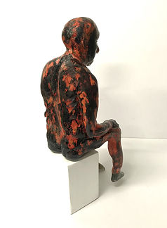 In Essence... by New South Wales artist, Lauri Smith - backview - resin version