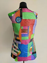 Back view of 'Fish out of water' (2017) by Karen Benjamin