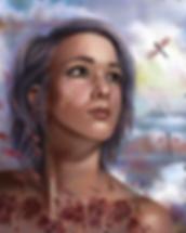 Michelle Webb: 'Break Free', digital painting, 2019