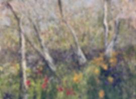 Lucila Zentner | Springflowers of Emkatdee | 77 x 114 | oil on canvas | 2016 | $6500