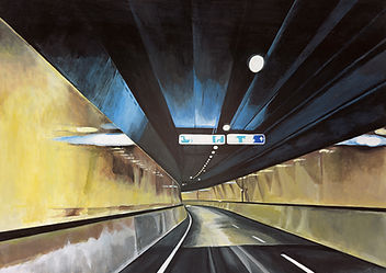 Contemporary Art Awards | Samir Hamaiel | Tunnel | Acrylic on canvas | 60 x 42cm | 2016
