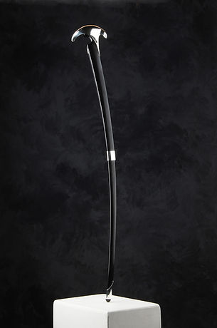 Jeramie Scahill | Walking Stick | Stirliing Silver & Rose Wood | 85 x 10cm | 2016