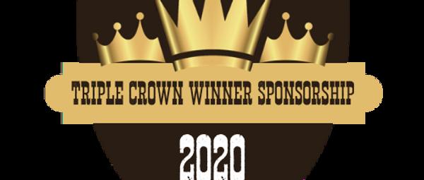 Triple Crown Winner Sponsorship
