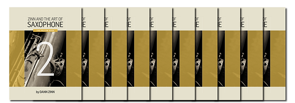 Zinn and The Art of Saxophone – Book 2 – Set of 10