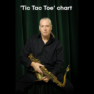 Tic Tac Toe Big Band Chart