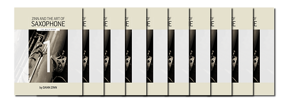Zinn and The Art of Saxophone – Book 1 – Set of 10