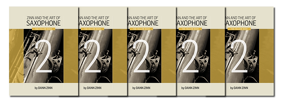 Zinn and The Art of Saxophone – Book 2 – Set of 5