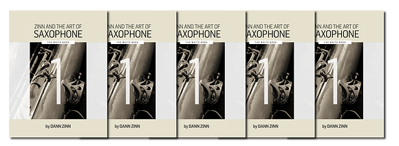 Zinn and The Art of Saxophone – Book 1 – Set of 5