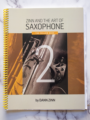 Zinn and The Art of Saxophone – Book 2