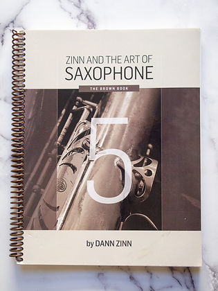 Zinn and The Art of Saxophone – Book 5