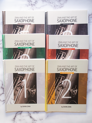 Zinn and The Art of Saxophone – 6 book set