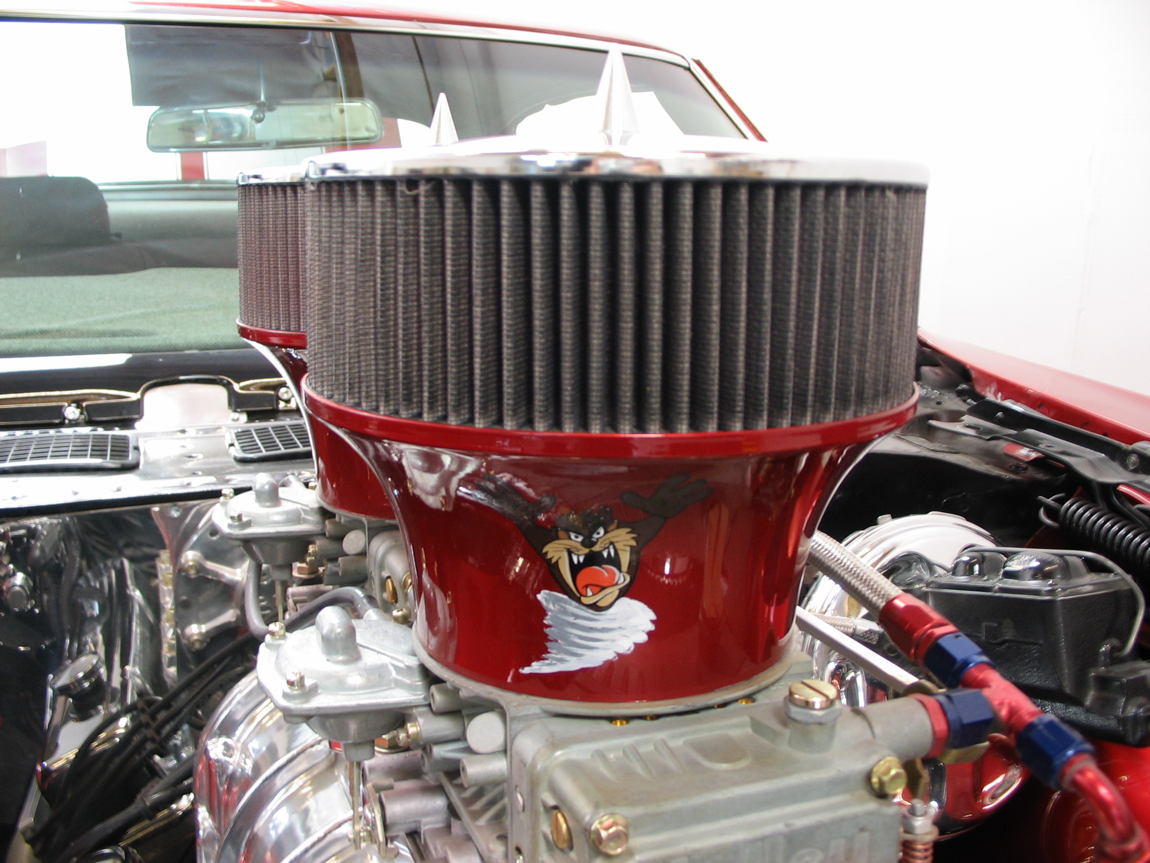 72' Chevelle engine