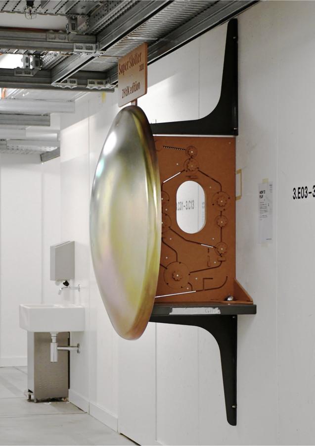 Installed at Zurich University of Arts.