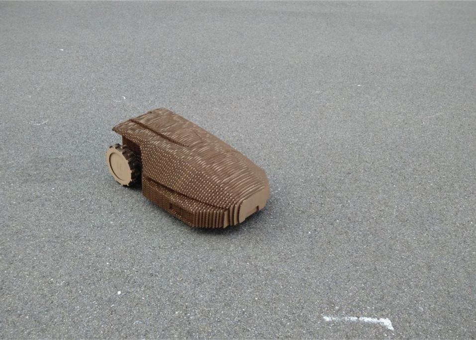 Cardboard Size 1:1 Model