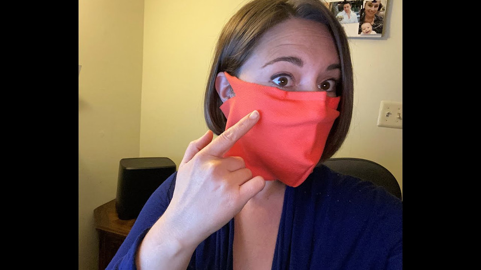 Unsolicited review of our Mini-Gaiter Mask