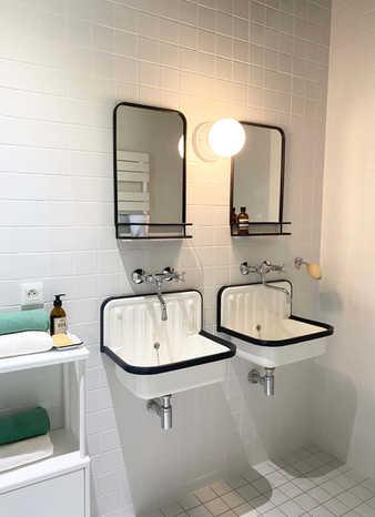 aménagement d'une salle de bain dans les Alpilles par la décoratrice d'intérieur Pascale Fayol