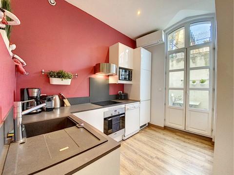 Pascale FAYOL décorateur d'intérieur a transformé cette cuisine à Avignon