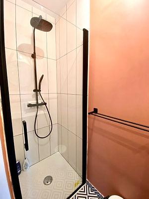 rénovation d'une salle de bains dans une villa