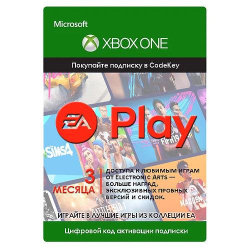 Подписка EA Play (EA Access) Xbox One 3 месяц