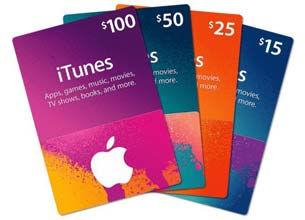 apple itunes gift card для США и России